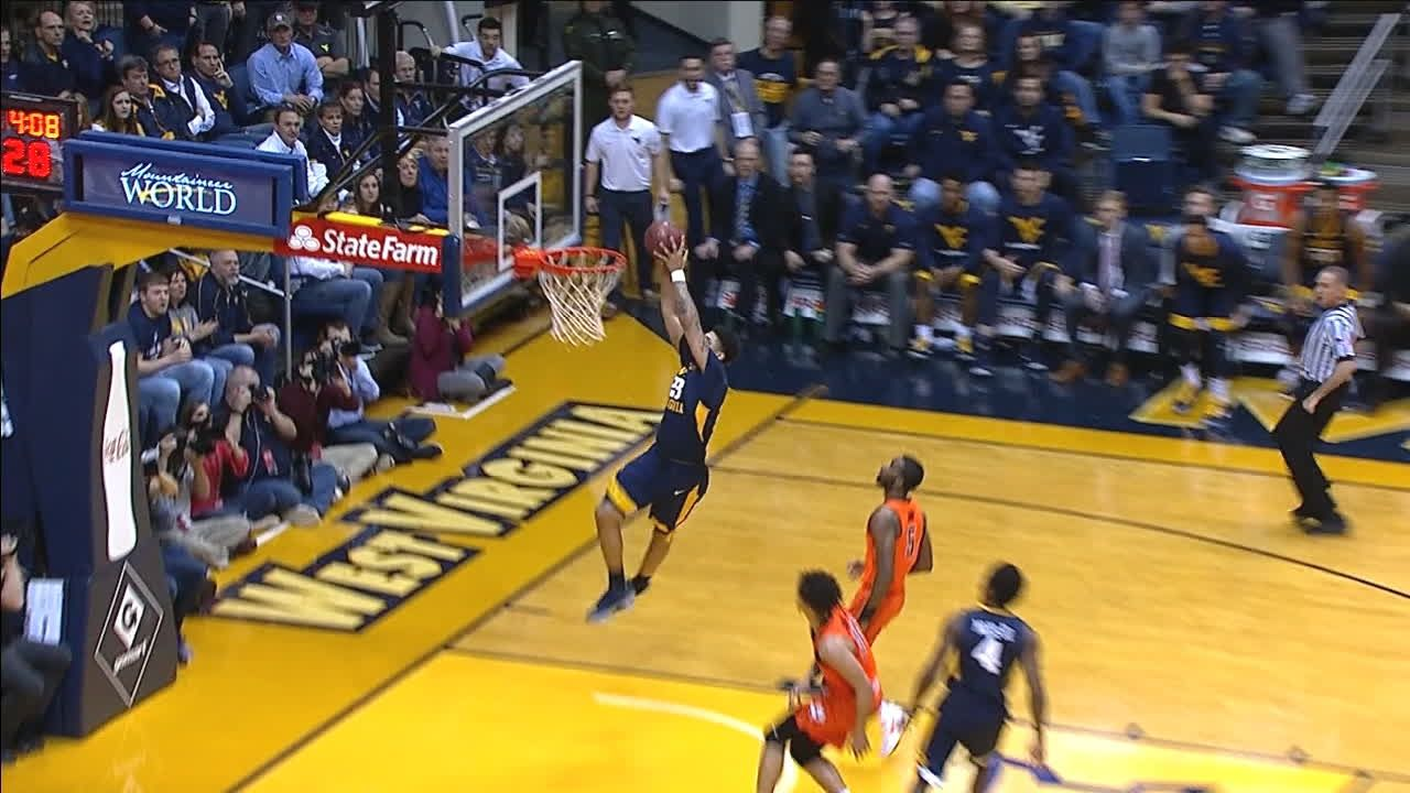 West Virginia connects on alley-oop - ESPN Video