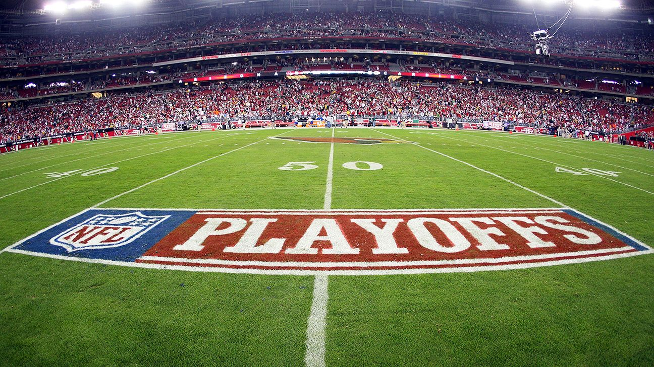 who is in playoffs espn football stats