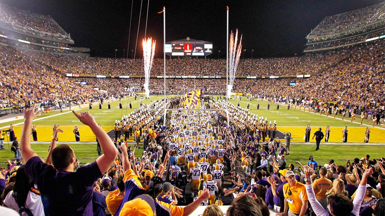 ESPN's College GameDay returns to LSU