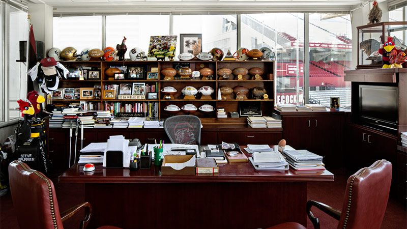 Another Look At Offices Of 15 Well Known Head Coaches
