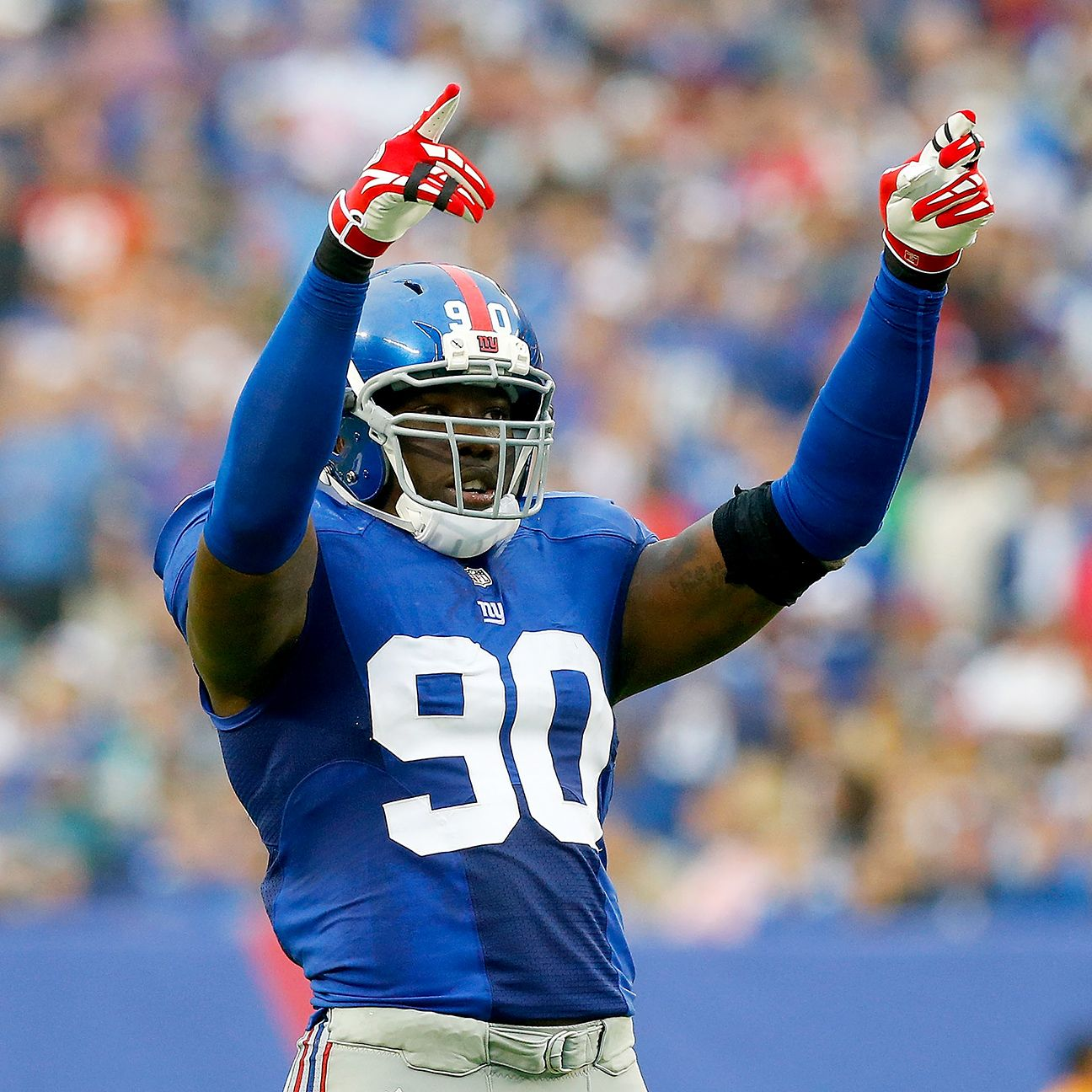 New York Giants' Jason Pierre-Paul Has Right Index Finger