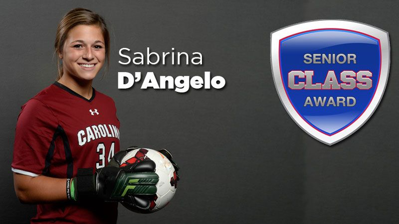 SC's D'Angelo named Senior CLASS Award finalist