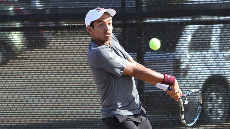 No. 23 MSU men's tennis dominates in doubleheader