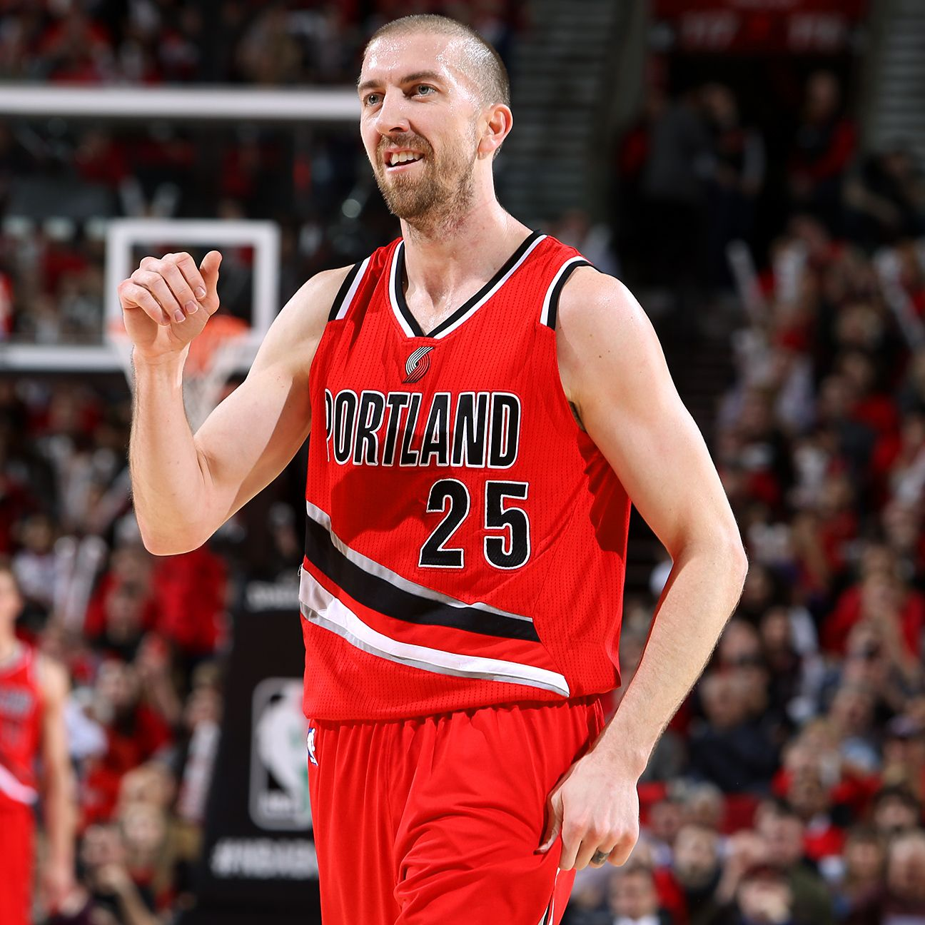 Steve Blake Exercises Option With Trail Blazers