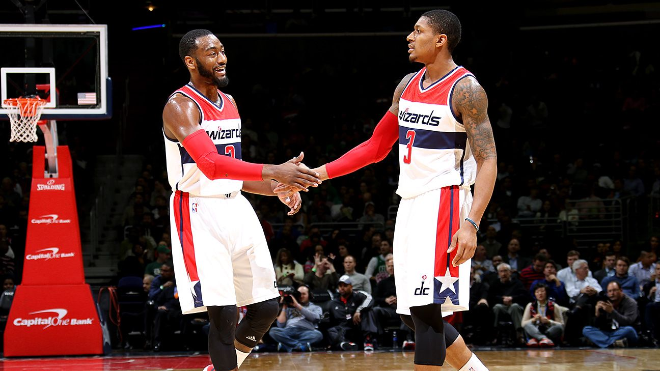 John Wall, Bradley Beal of Washington Wizards still trying to learn how to play together