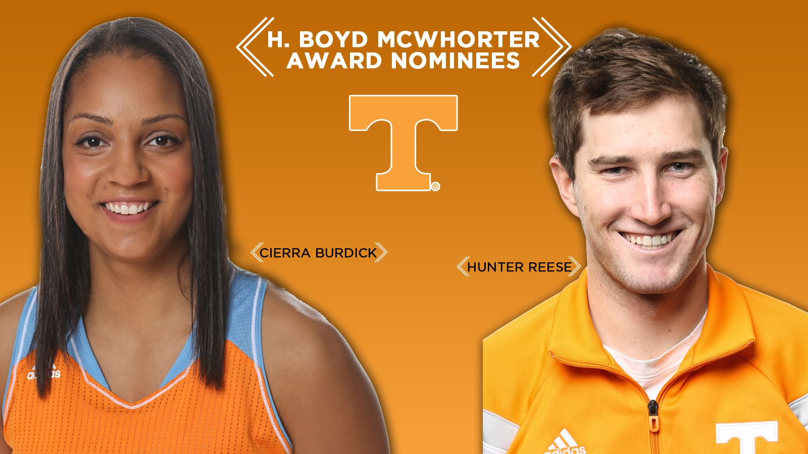 UT's Reese, Burdick nominees for McWhorter Award