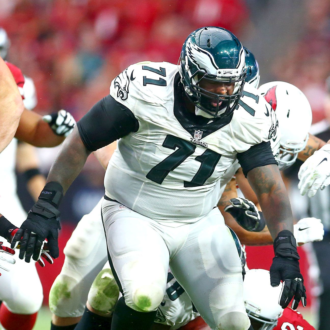 Philadelphia Eagles Roster Analysis Offensive Line