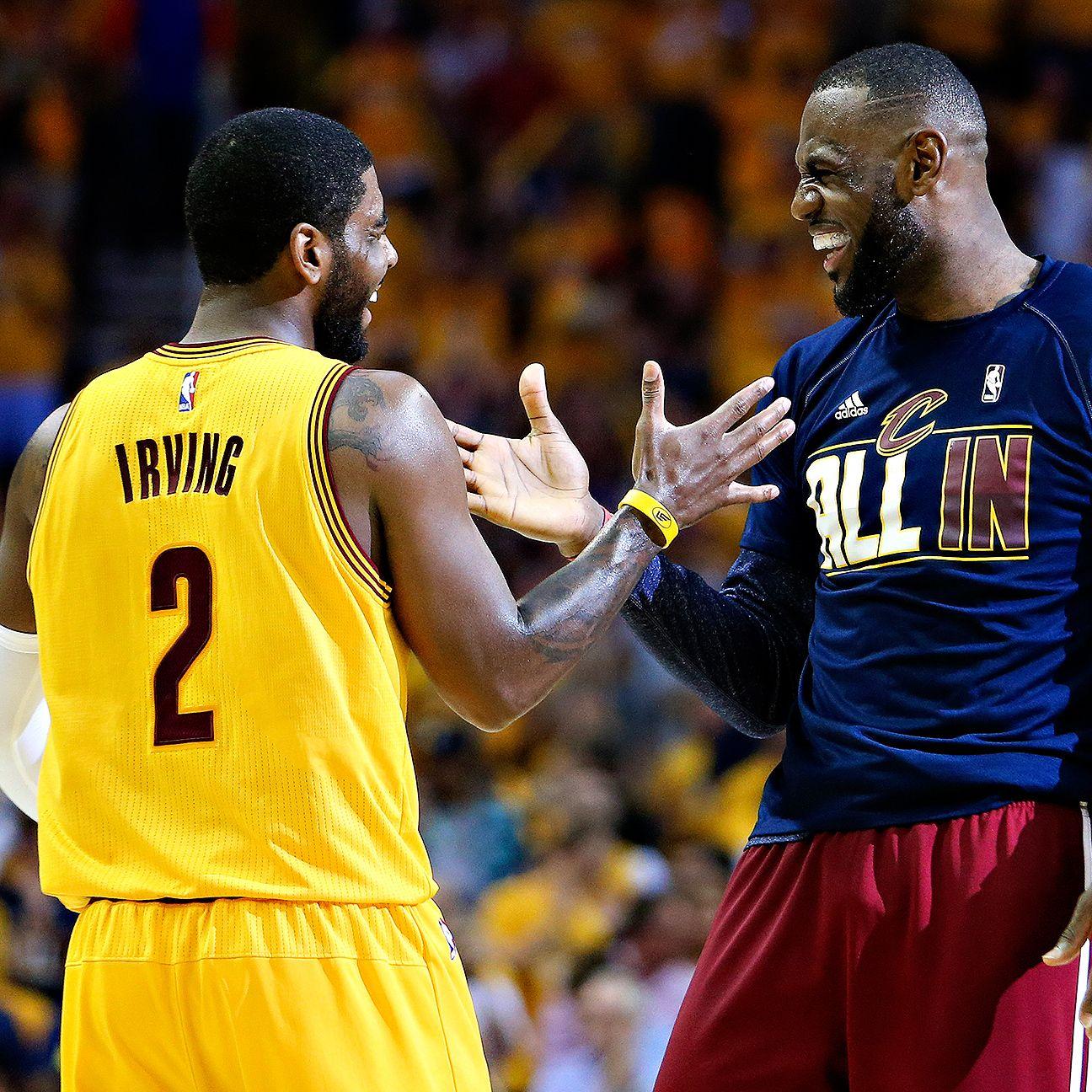 2015 NBA Playoffs: Cleveland Cavaliers Vs. Golden State