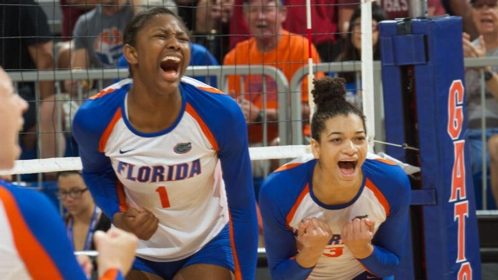 UF's Alhassan, Holston named to USAV training roster