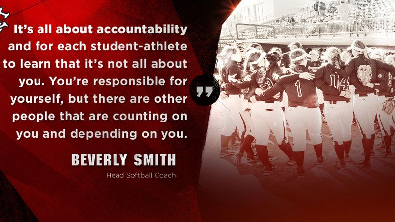 Accountability program for Gamecock softball