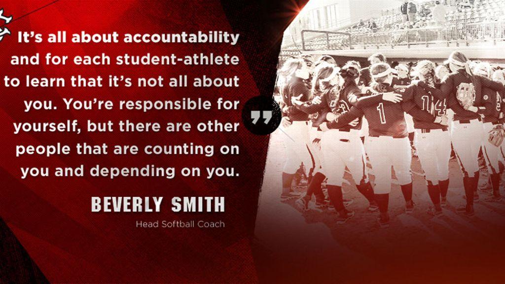 Accountability program for Gamecock softball
