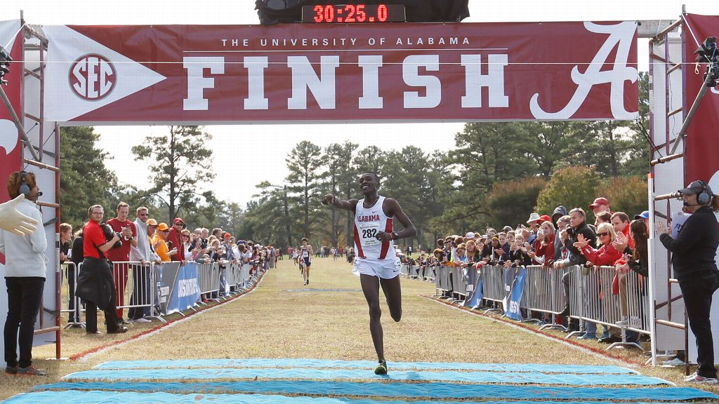 Alabama's Kosgei named South Region Athlete of the Year