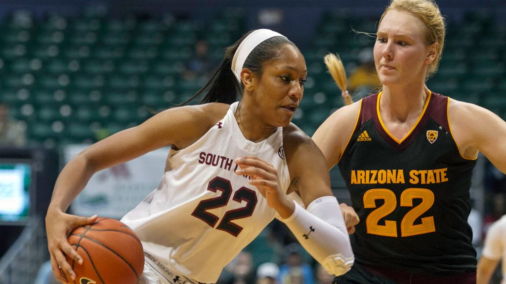 No. 2 South Carolina edges No. 16 Arizona State