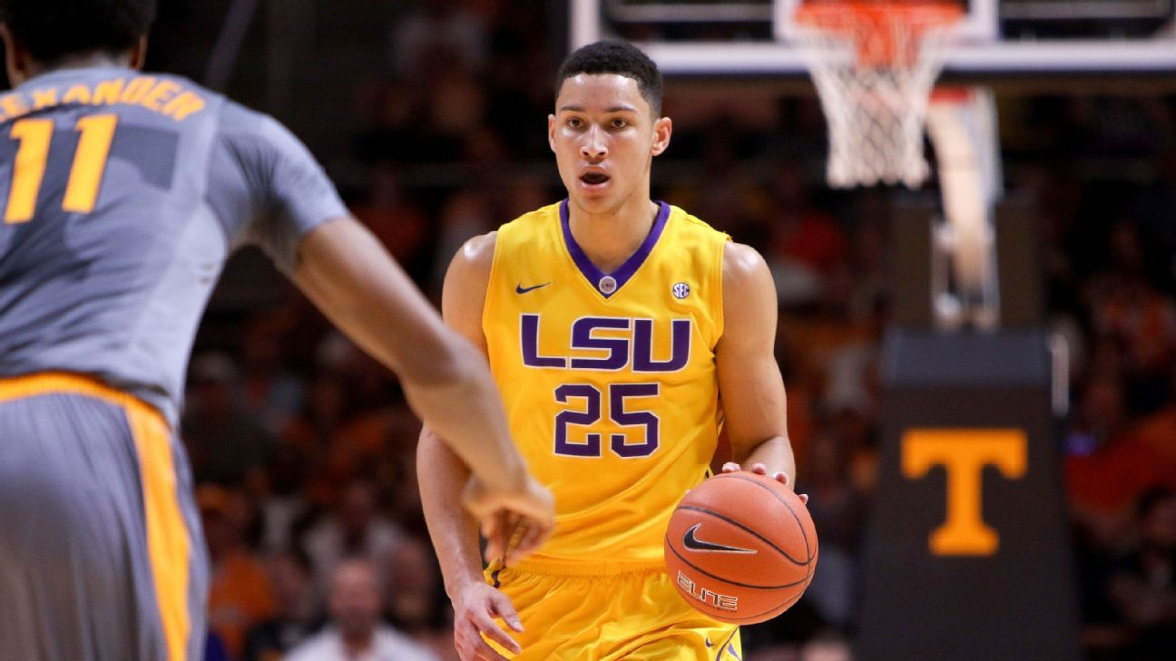 Ben Simmons of LSU Tigers comes off bench vs. Tennessee ...