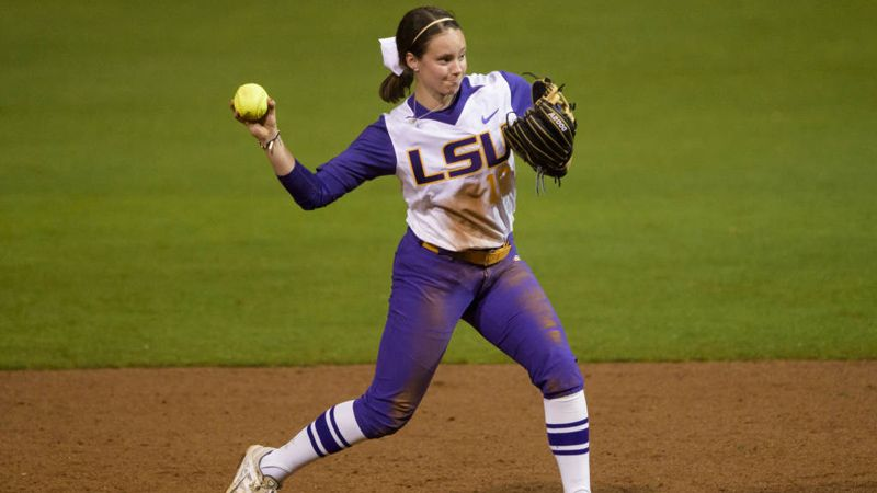 Smith's perfect game headlines LSU Friday sweep