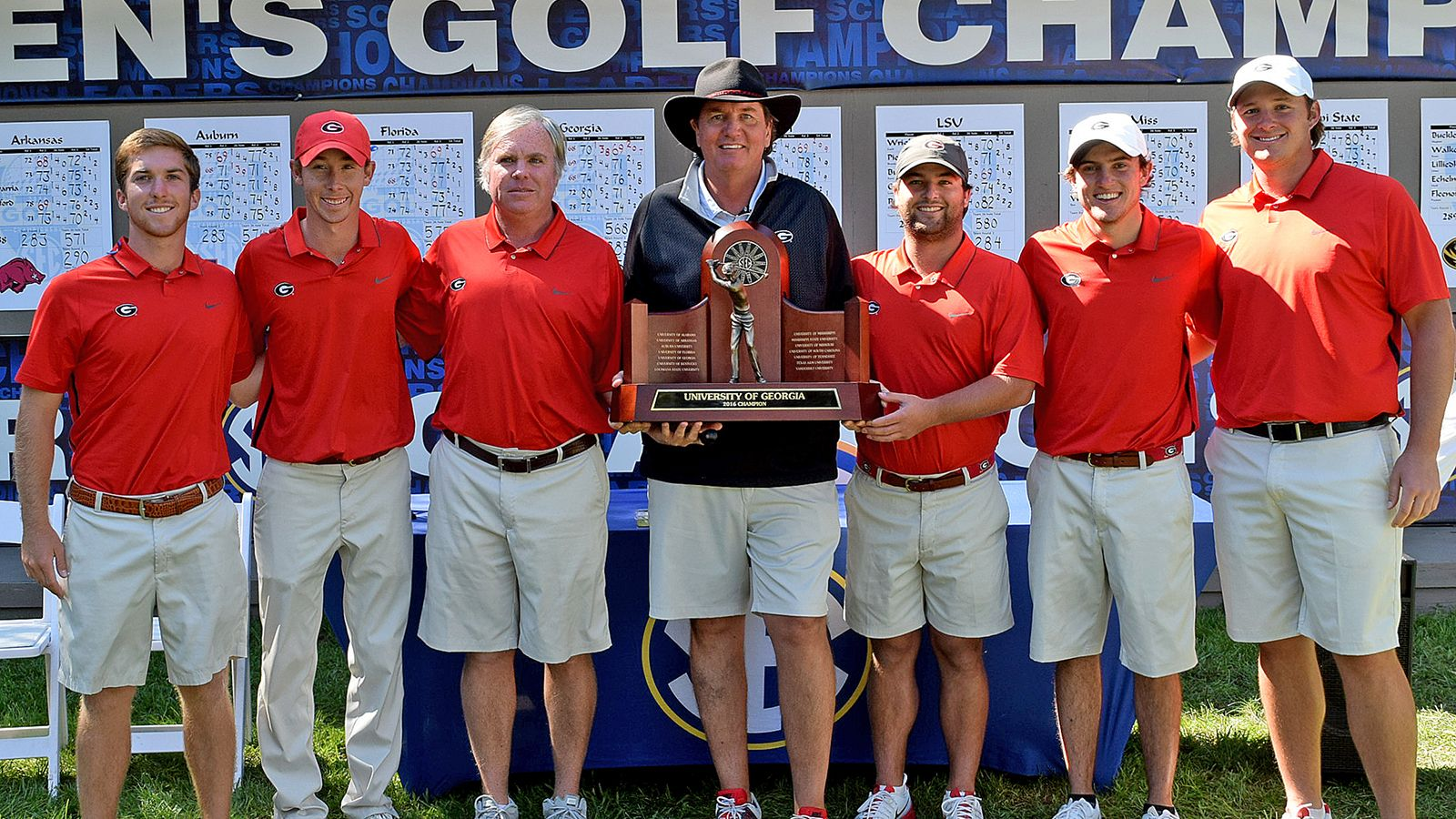 McCoy-led Bulldogs win SEC Men's Golf Championship