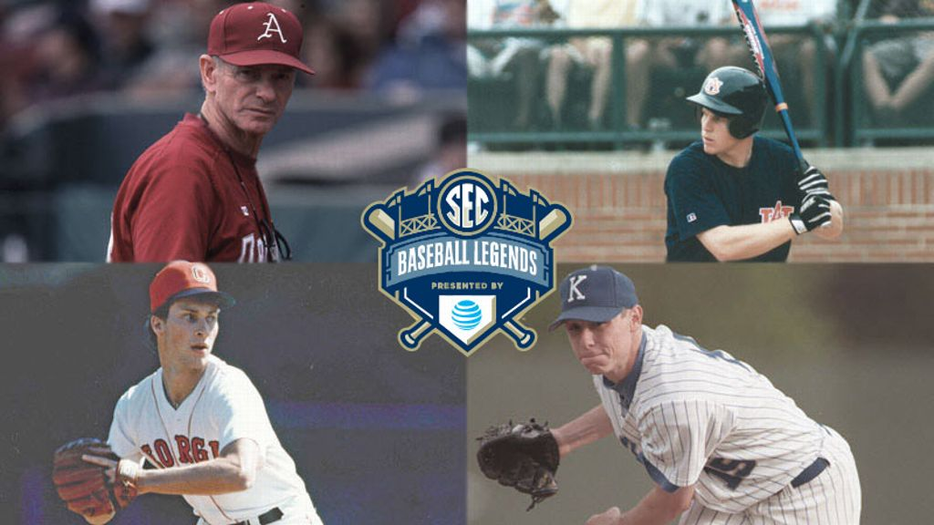 SEC announces 2016 Baseball Legends