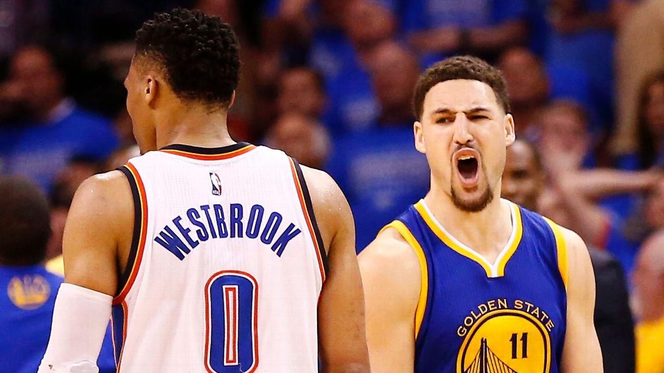 Klay Thompson shoots Warriors into Game 7 - Golden State Warriors Blog- ESPN