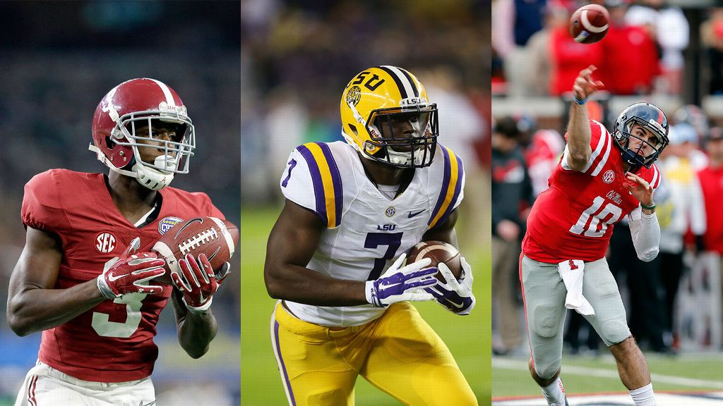 2016 Preseason Media Days All-SEC Team