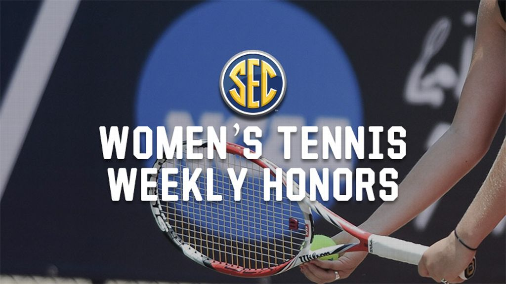 Week 10: Women's Tennis Weekly Honors