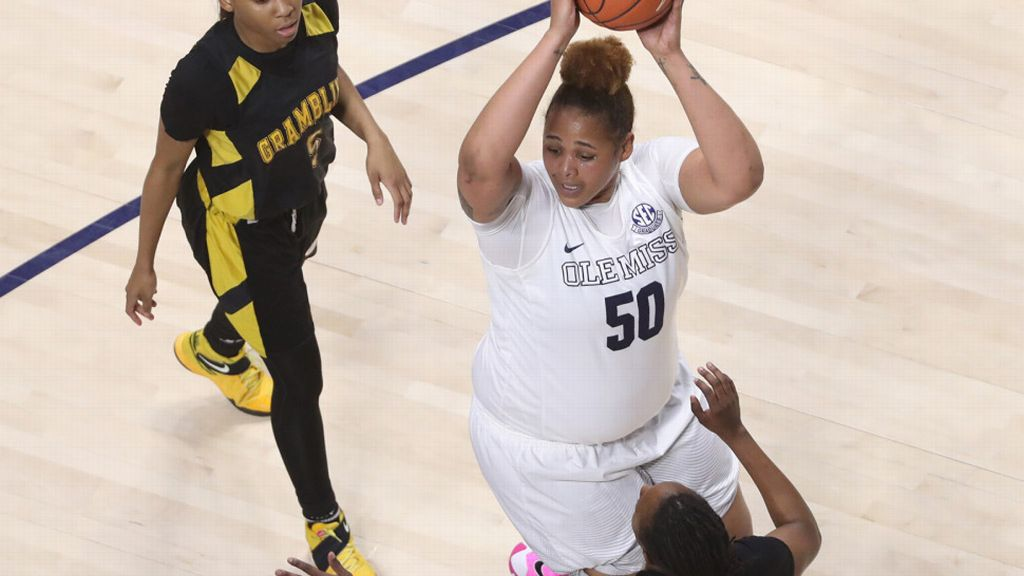 Ole Miss loses close battle to Grambling in WNIT