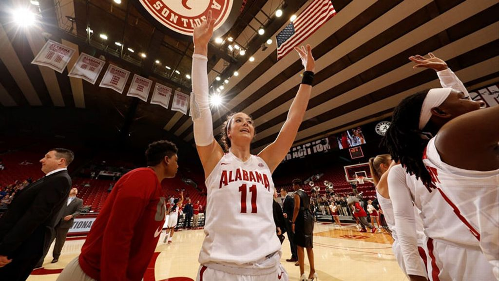 Crimson Tide rolls into WNIT quarterfinals