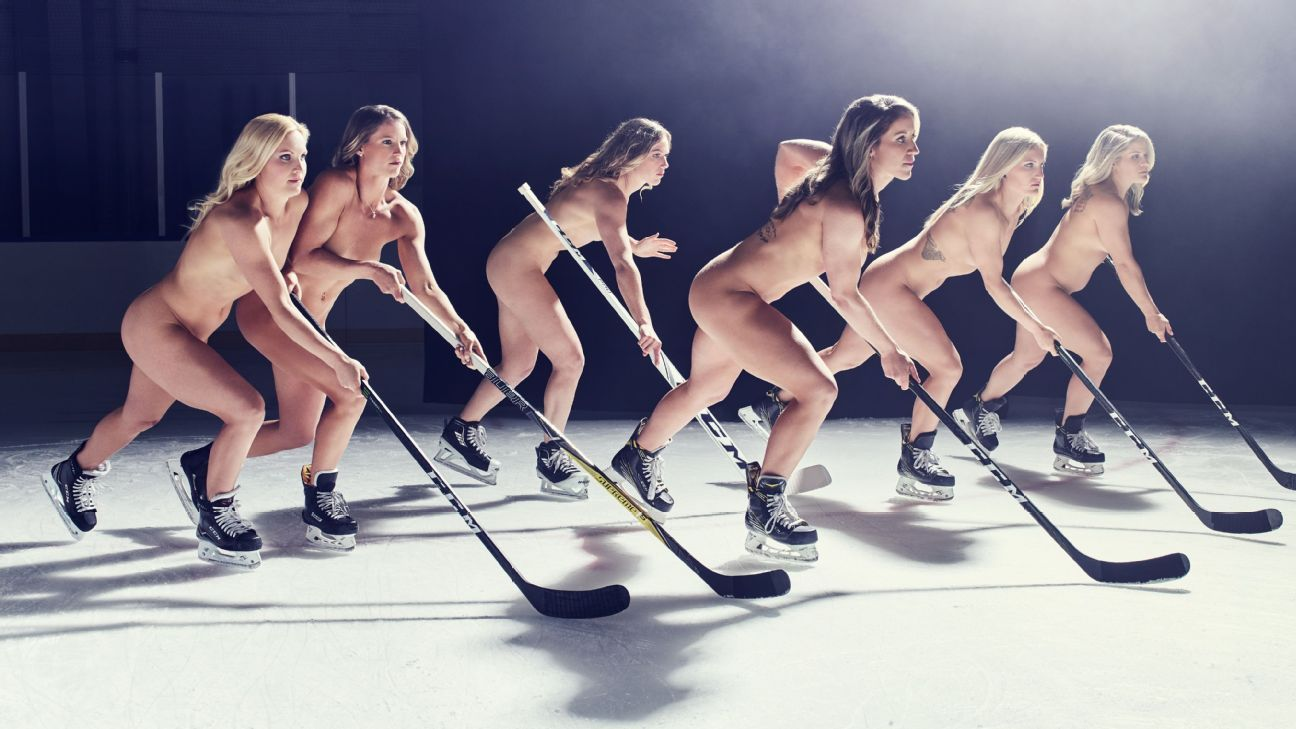 women ice hockey nude