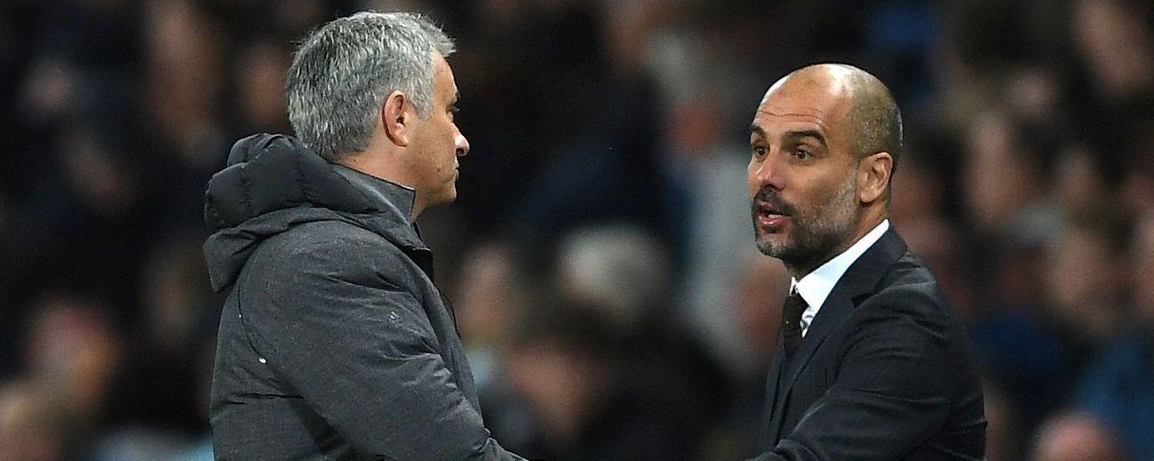 Image result for pep guardiola and jose mourinho