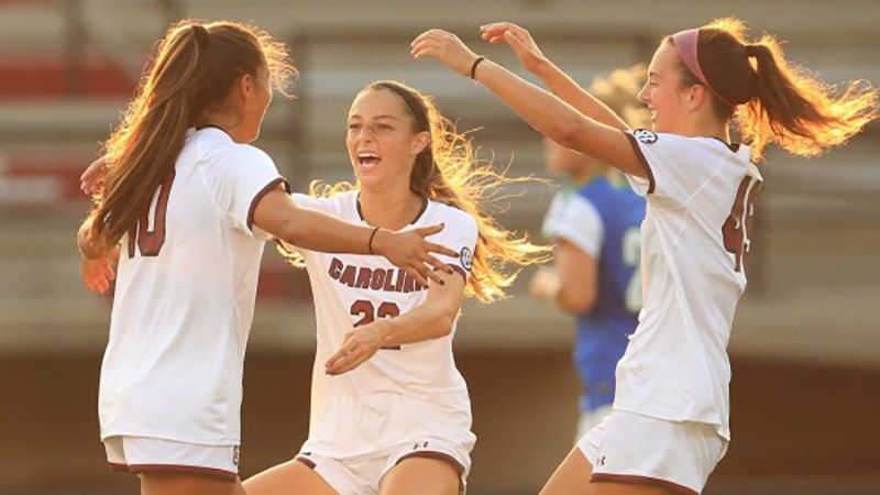 Gamecocks beat FGCU with second-half PK