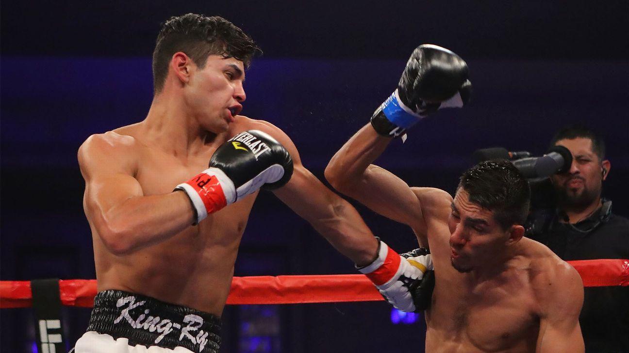 Junior lightweight Ryan Garcia to fight Fernando Vargas on ...