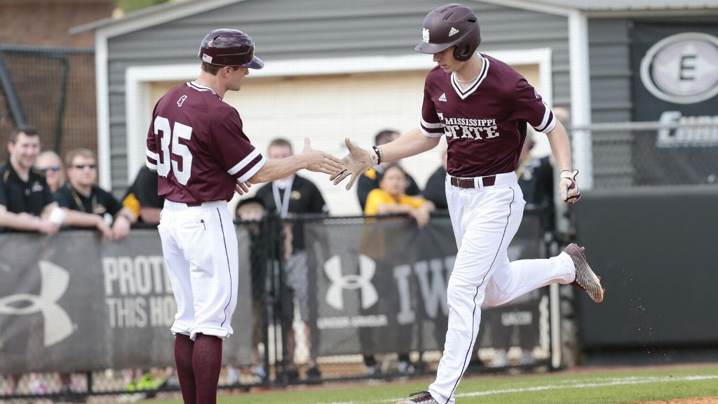 Hatcher homers twice as No. 15 MSU downs UCSB 7-4