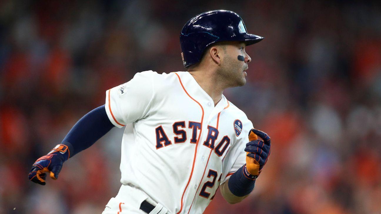 Jose Altuve will not return during Houston Astros' current retirement