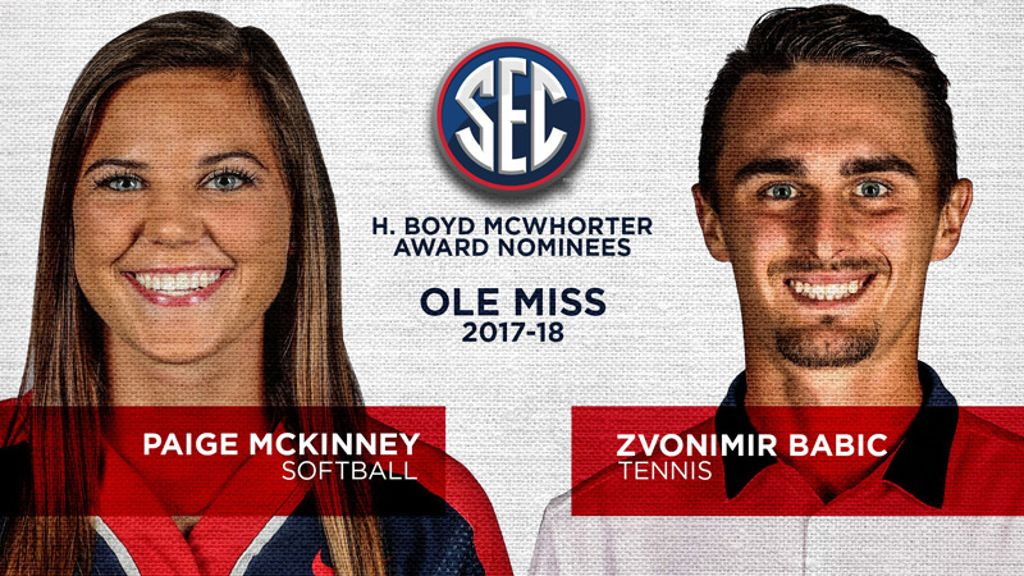 Ole Miss nominees for McWhorter Award announced