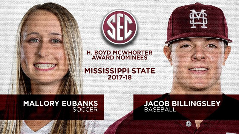 Miss State nominees for McWhorter Award announced
