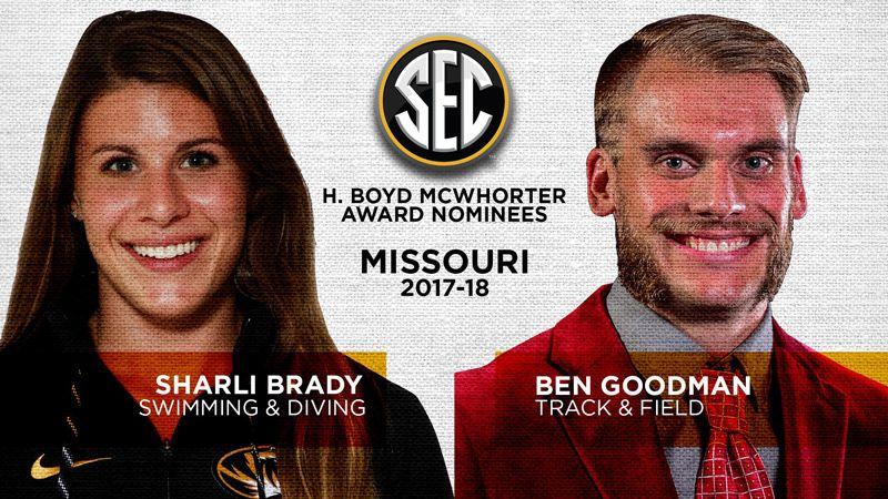 Missouri nominees for McWhorter Award announced