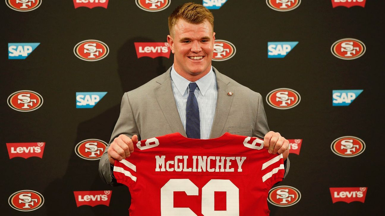 Hush-hush: How 49ers kept interest in Mike McGlinchey ...