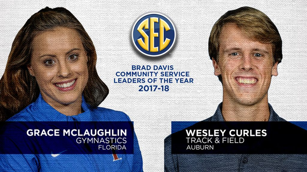 McLaughlin, Curles named Brad Davis Award winners