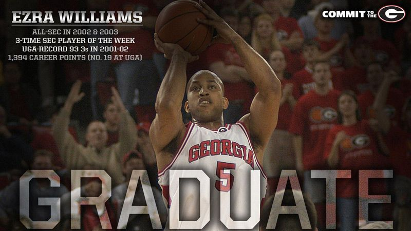 After 15 years, UGA's Williams gets his degree