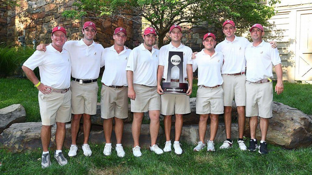 Alabama men's golf team finishes as national runner-up