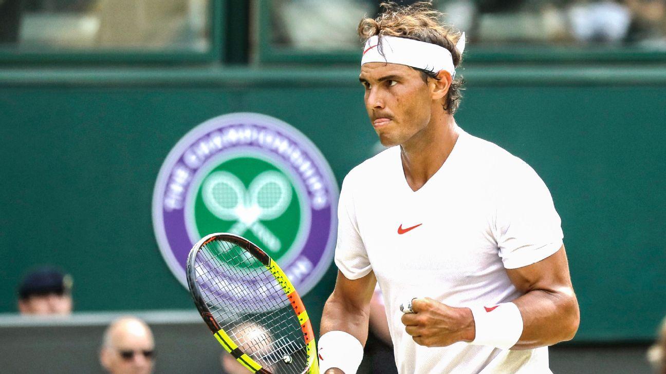 Wimbledon 2018 -- Rafael Nadal advances to fourth round