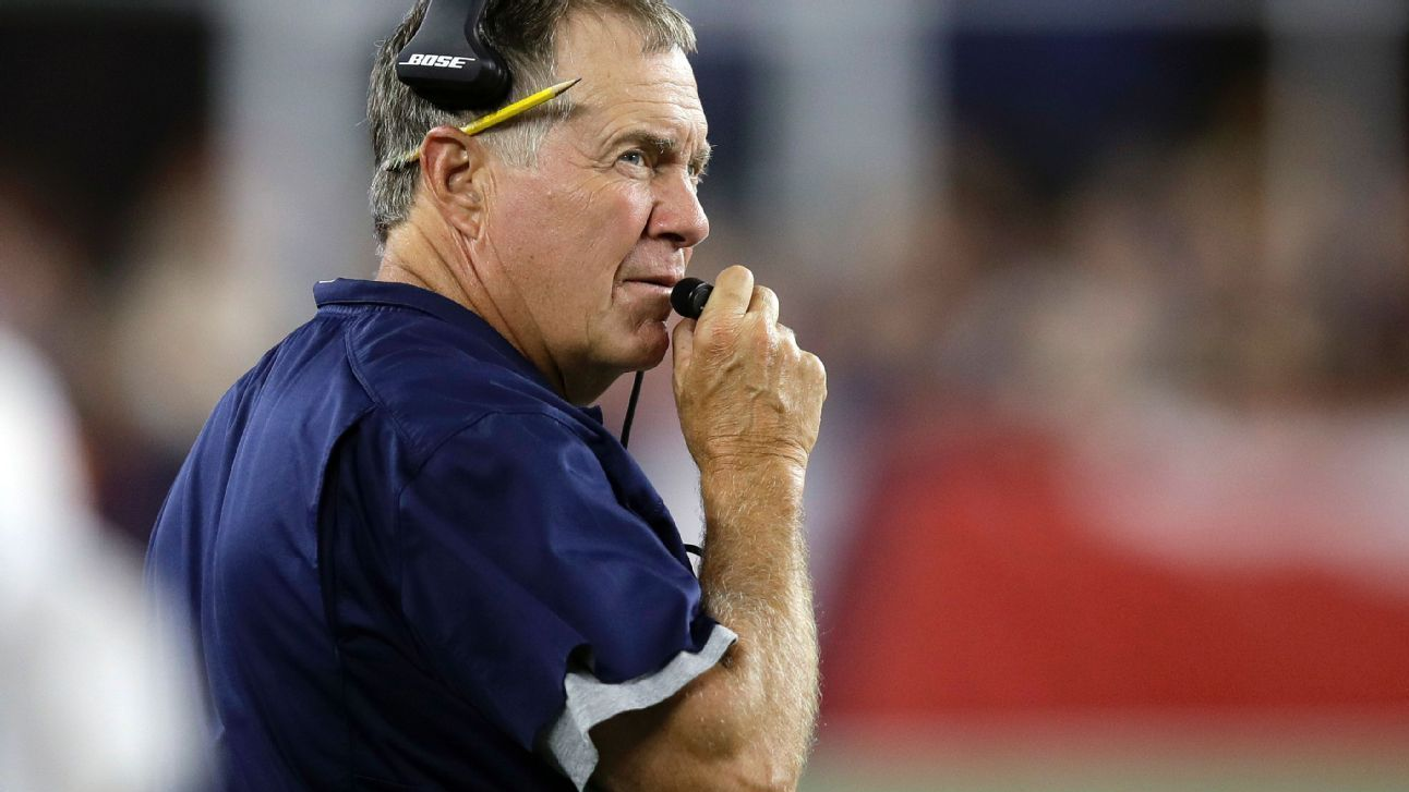 New England Patriots head coach Bill Belichick considers the playoffs to give practice breaks