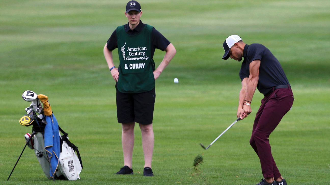Warriors star, Stephen Curry, finishes last in golf tournament