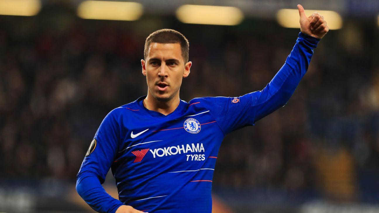 Transfer Talk: Chelsea's Hazard wird wahrscheinlich nicht zu Man City wechseln; Lukaku sucht Man United Ausgang - ESPN