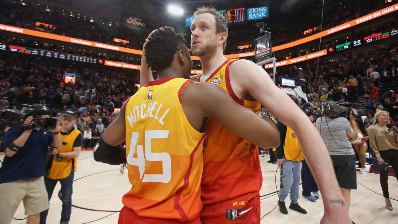 NBA - Joe Ingles, Jae Crowder se roba el show en el regreso de Gordon Hayward a Utah