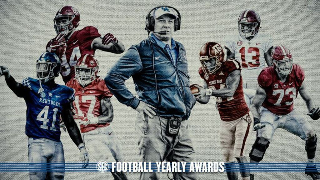 2018 SEC Football Awards announced