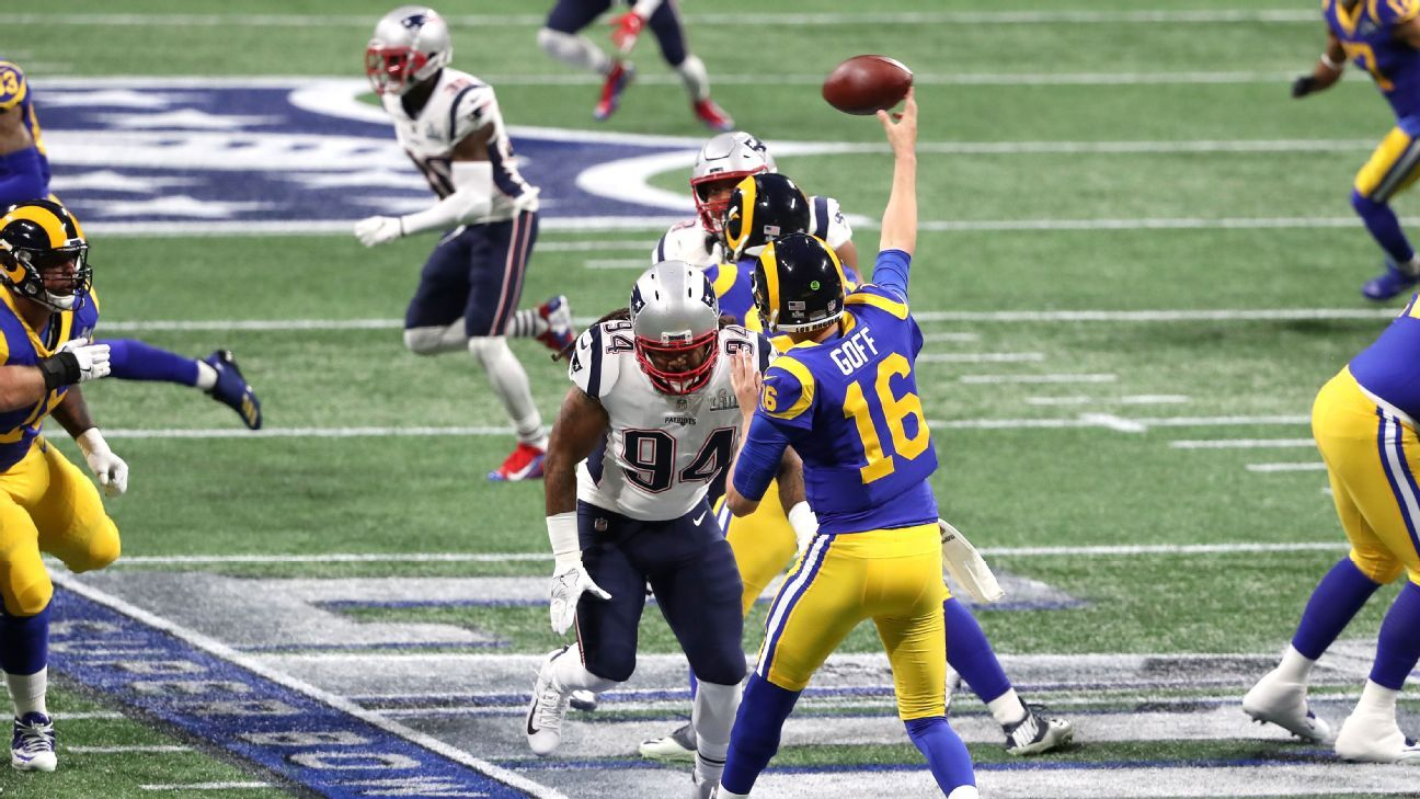 Jared Goff, QB, Los Angeles Rams