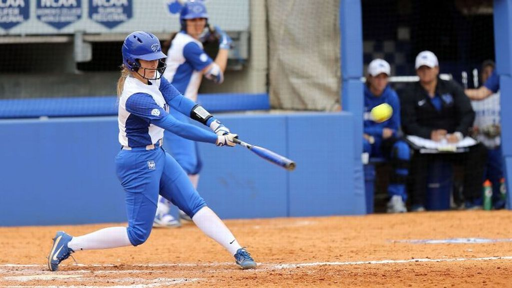 No. 21 UK notches pair of run-rule victories