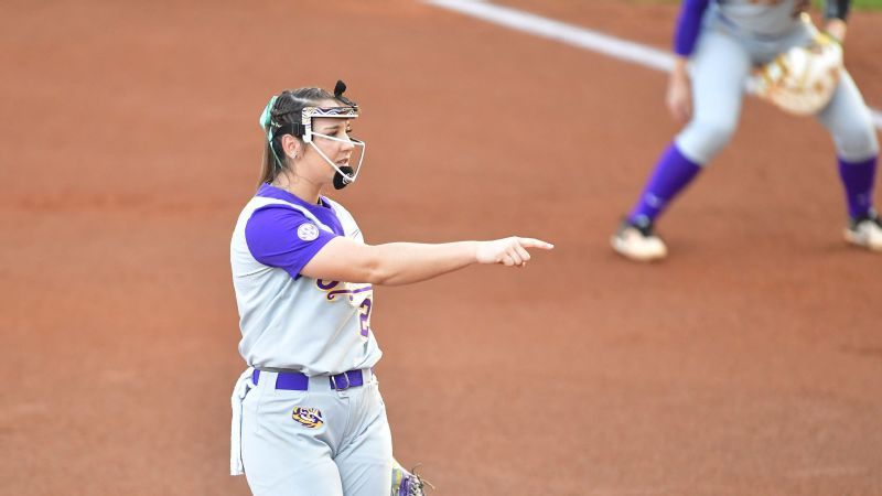 No. 7 LSU sweeps doubleheader