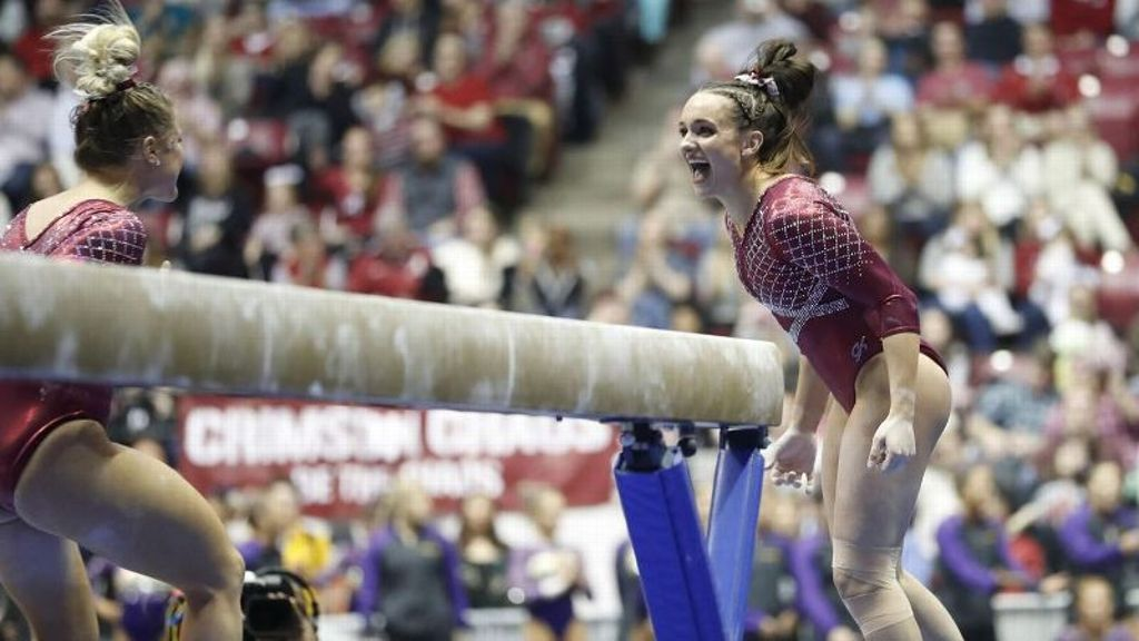 Alabama puts up season high vs. No. 1 Oklahoma