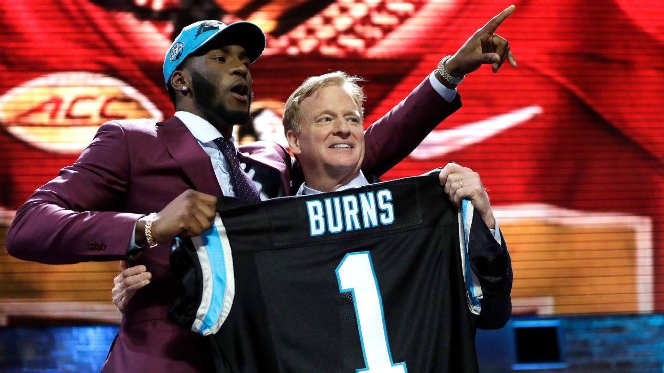 Brian Burns, DE, Carolina Panthers